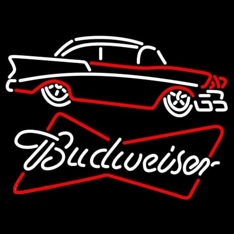Budweiser 57 Chevy Neon Sign - NeonSignsUK.com