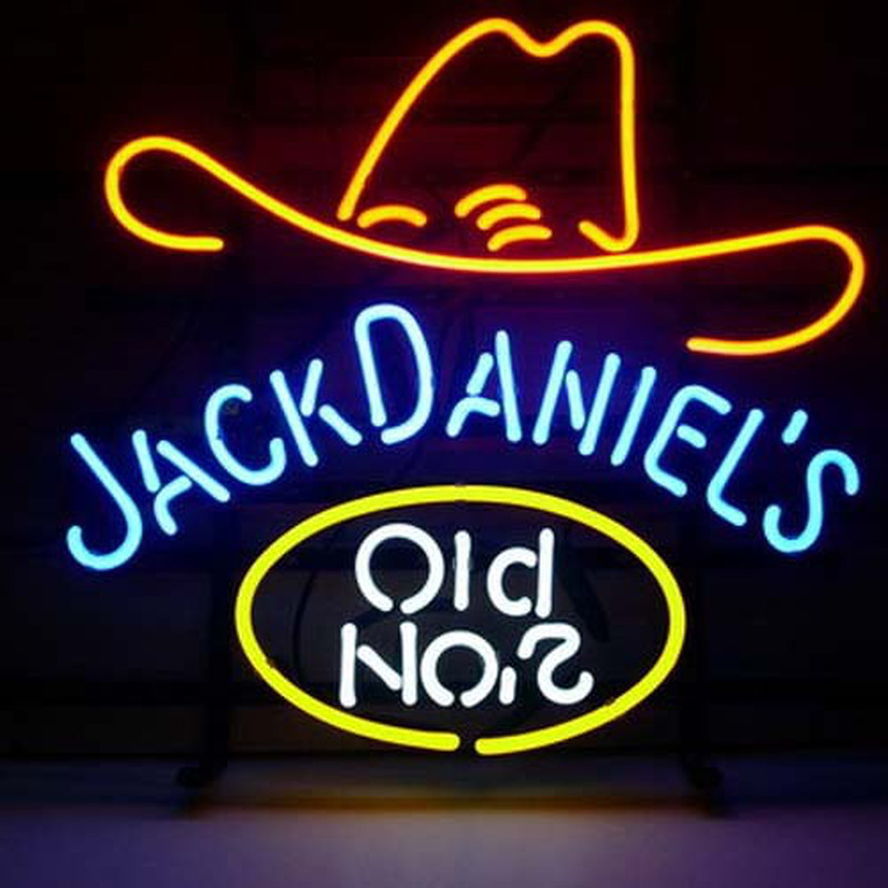 Jack Daniels Old #7 Whiskey Neon Sign