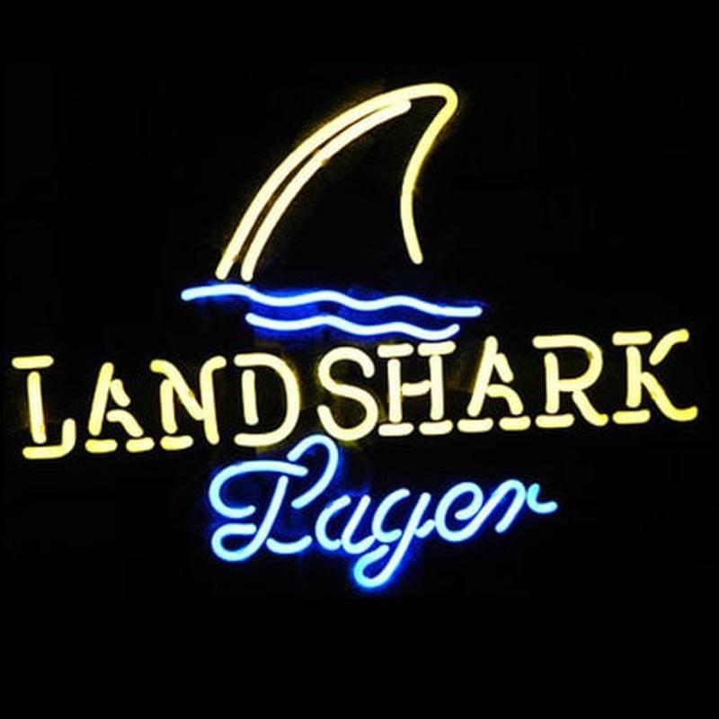 Landshark Lager Beer Neon Sign - NeonSignsUK.com