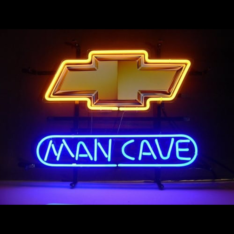 Man Cave Neon : Vintage stroh s neon beer sign advertising man cave bar back
