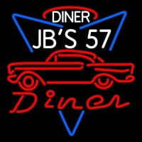 1957 Chevy JBS 57 Diner Neon Sign