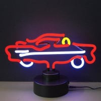 57 Car Desktop Neon Sign