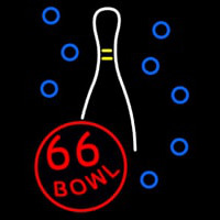 66 Bowl Neon Sign