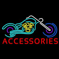 Accessories Block Bike Logo Neon Sign