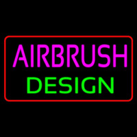 Airbrush Design Neon Sign