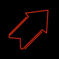 Arrow Neon Sign