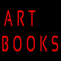 Art Books Neon Sign