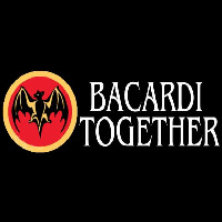 Bacardi Bat Together Rum Sign Neon Sign