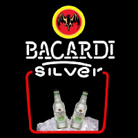Bacardi Silver Rum Sign Neon Sign