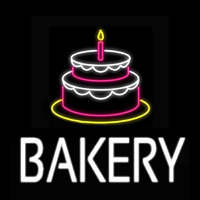 Bakery Cake Neon Sign