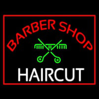 Barbershop Haircut  Neon Sign