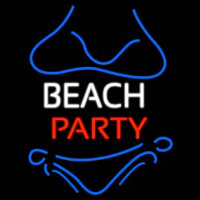 Beach Party Neon Sign