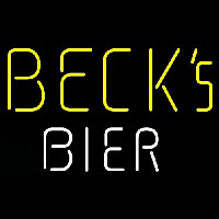 Becks Bier Beer Neon Sign