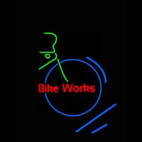 Bike Works Neon Sign
