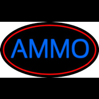 Blue Ammo Neon Sign