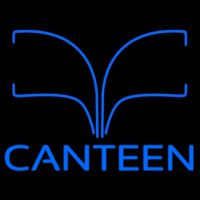Blue Canteen Neon Sign