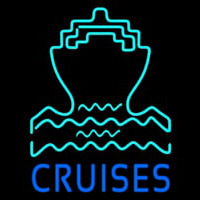 Blue Cruise Neon Sign