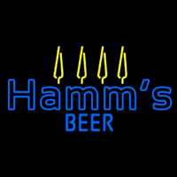Blue Hamms Neon Sign