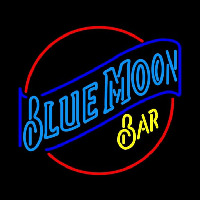 Blue Moon Bar Beer Sign Neon Sign