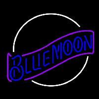 Blue Moon Blue Beer Sign Neon Sign