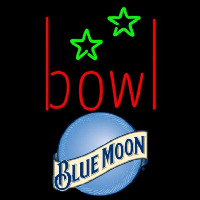 Blue Moon Bowling Alley Beer Sign Neon Sign