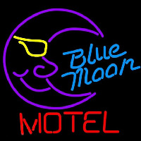 Blue Moon Motel Beer Sign Neon Sign