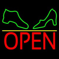 Boot And Sandal Open Neon Sign