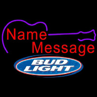 Bud Light Acoustic Guitar Beer Sign Neon Sign