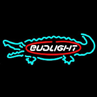 Bud Light Alligator Beer Sign Neon Sign
