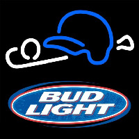 Bud Light Baseball Beer Sign Neon Sign