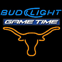 Bud Light Game Time Steer Beer Sign Neon Sign