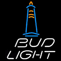Bud Light Lighthouse Beer Sign Neon Sign