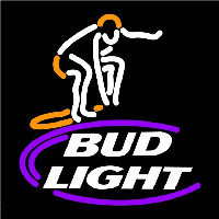 Bud Light Surfer Beer Sign Neon Sign