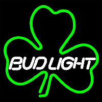 Budlight Green Clover Beer Sign Neon Sign