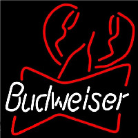 Budweiser Lobster Beer Sign Neon Sign