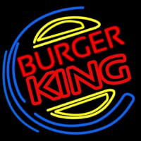 Burger King Neon Sign