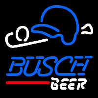 Busch Baseball Beer Sign Neon Sign