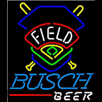 Busch Beer Field Colorado Rockies Beer Sign Neon Sign