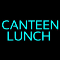 Canteen Lunch Neon Sign