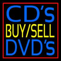 Cds Buy Sell Dvds Block 1 Neon Sign