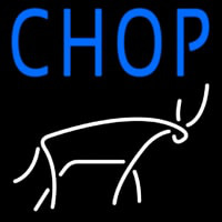 Chophouse With Logo Neon Sign