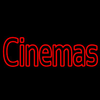 Cinemas Block Neon Sign