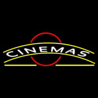 Cinemas Neon Sign