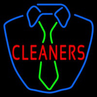 Cleaners Shirt Logo Neon Sign