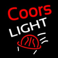 Coors Light Basket Ball Neon Sign