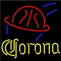 Corona Basketball Beer Bar Pub Neon Sign