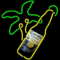Corona E tra Palm Tree Bottle Beer Sign Neon Sign