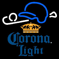 Corona Light Baseball Beer Sign Neon Sign