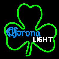 Corona Light Green Clover Beer Sign Neon Sign