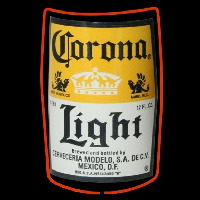 Corona Light Label Beer Sign Neon Sign
